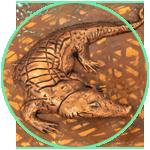 Krokodil - Treibarbeit
